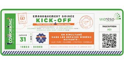 Soirée Kick Off weréso Colombes