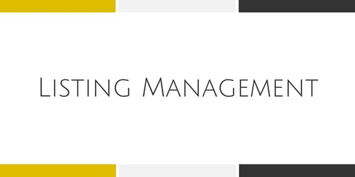 Listing Management - Falls Church