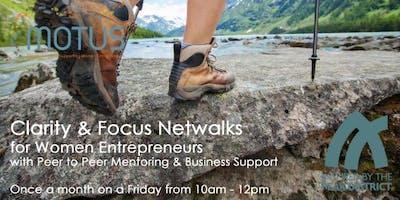 Clarity & Focus Netwalk for Women Entrepreneurs