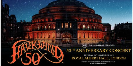 Hawkwind - 50th Anniversary (Royal Albert Hall, London) tickets