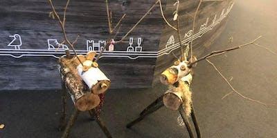 Rustic Reindeer Workshop at Kingsbury Water Park