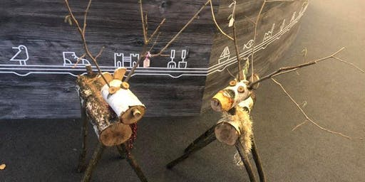 Rustic Reindeer Workshop at Kingsbury Water Park