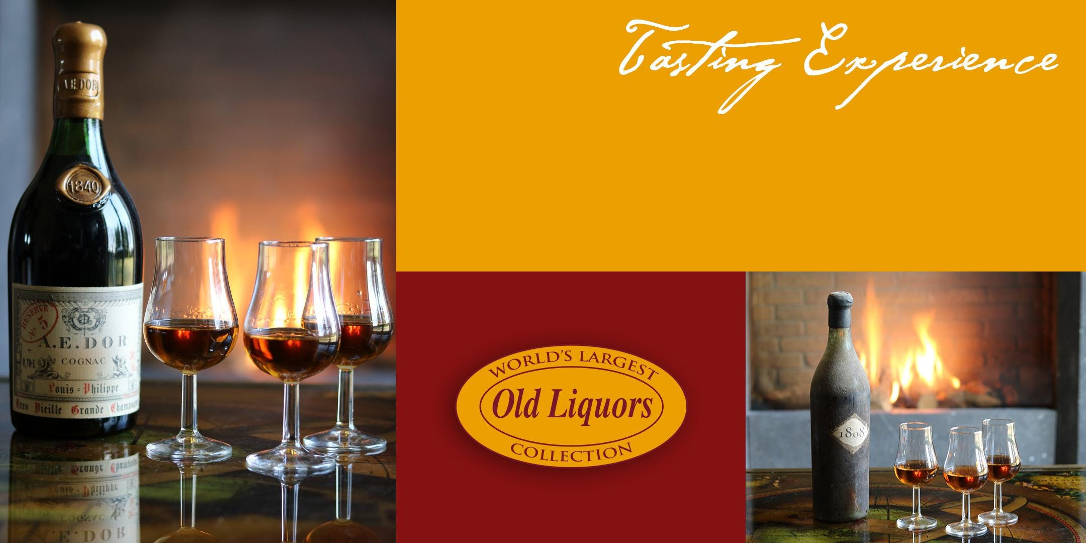PRIVATE RARE VINTAGE COGNAC TASTING EXPERIENCE IN YOUR HOME IN MIAMI