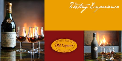 PRIVATE RARE VINTAGE COGNAC TASTING EXPERIENCE IN YOUR HOME IN SF