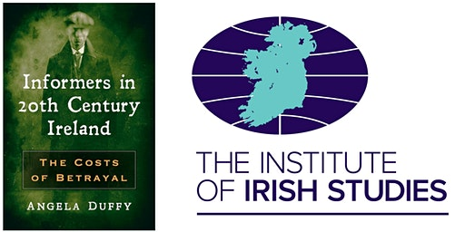 Book Launch: Informers in 20th Century Ireland by Dr Angela Duffy