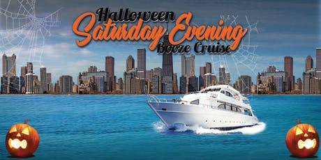 Halloween Saturday Evening Booze Cruise aboard Mystic Blue on October 26th tickets