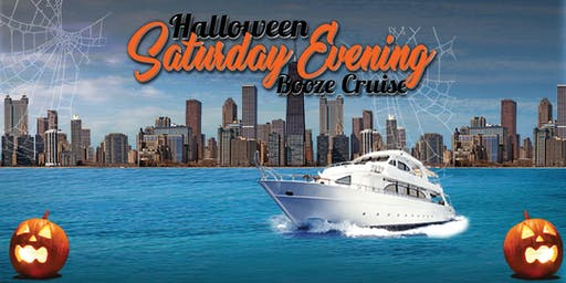 Halloween Saturday Evening Booze Cruise aboard Mystic Blue on October 26th