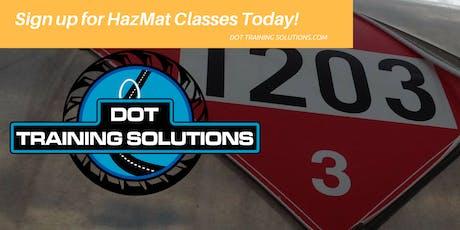 DOT Hazmat Training, General Awareness and Security, Portland/Beaverton, OR tickets