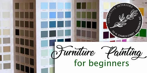 Furniture Painting for Beginners at Collective Interiors