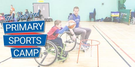 WheelPower - Feel Inspired Primary Sports Camp - 5th February 2020 tickets