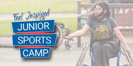 WheelPower - Feel Inspired Junior Sports Camp - 6th February 2020  tickets