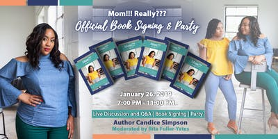 Mom!!! Really??? Official Book Launch & Party