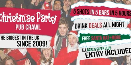 CHRISTMAS PARTY PUB CRAWLS tickets