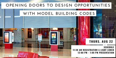 Opening Doors to Design Opportunities with Model Building Codes