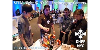 2019 STEM Night at NY Hall of Science: Engineering