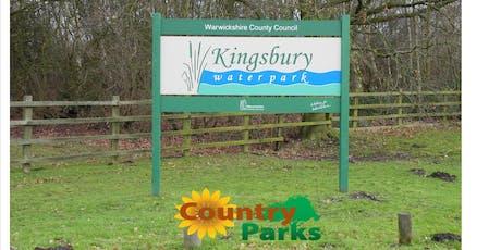 Volunteer Ranger Taster Day at Kingsbury Water Park. tickets
