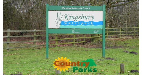 Volunteer Ranger Taster Day at Kingsbury Water Park.