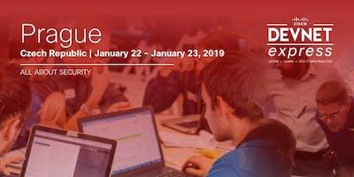 Cisco DevNet Express - SECURITY - Prague - January