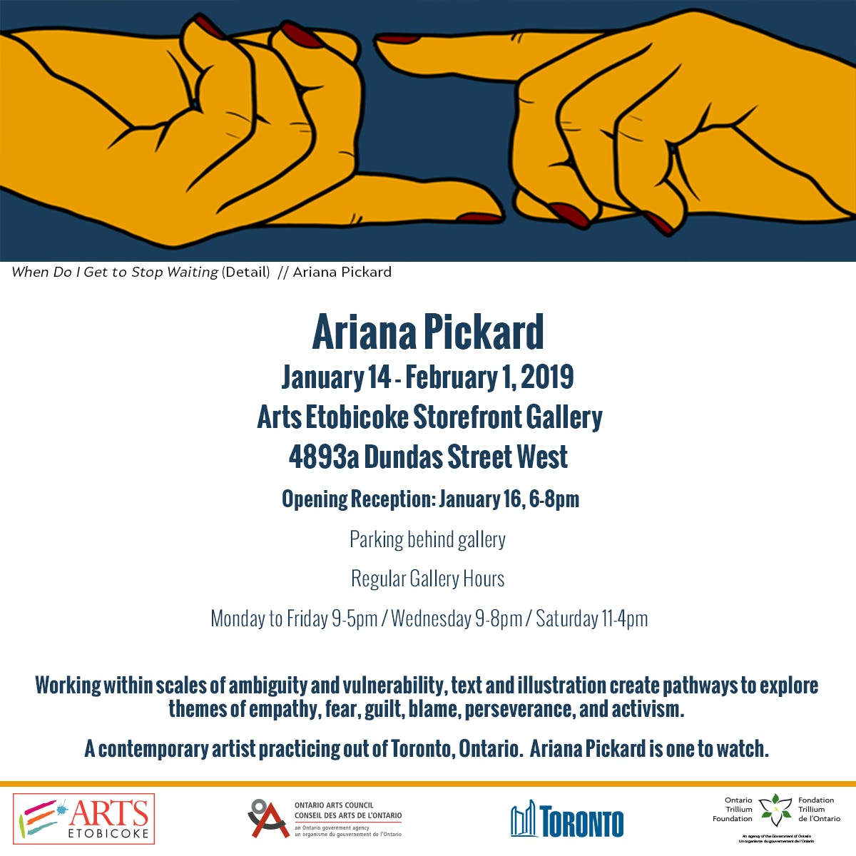 Ariana Pickard Opening Reception