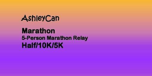 AshleyCan Marathon/5-Person Marathon Relay/Half Marathon/10K/5K  delete