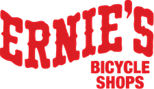 Ernie's Bicycle Shops logo