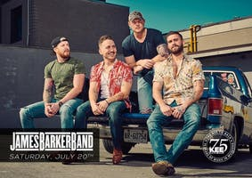 James Barker Band - SOLD OUT - Live at The KEE to Bala Saturday July 20th