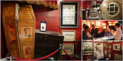 Magic Tour & Demo @ Fantasma Magic's Harry Houdini Museum