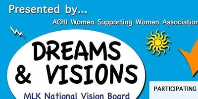 MLK National Dream & Vision Board Party for YOUTH (free) & Adults