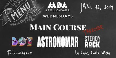 MDA Wednesdays MAIN COURSE Takeover