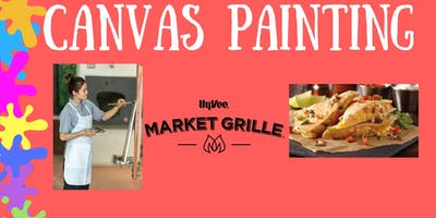 Canvas Painting at Market Grille