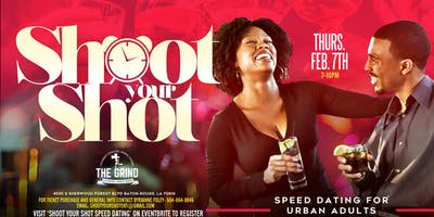 Shoot Your Shot Speed Dating- Tickets for men