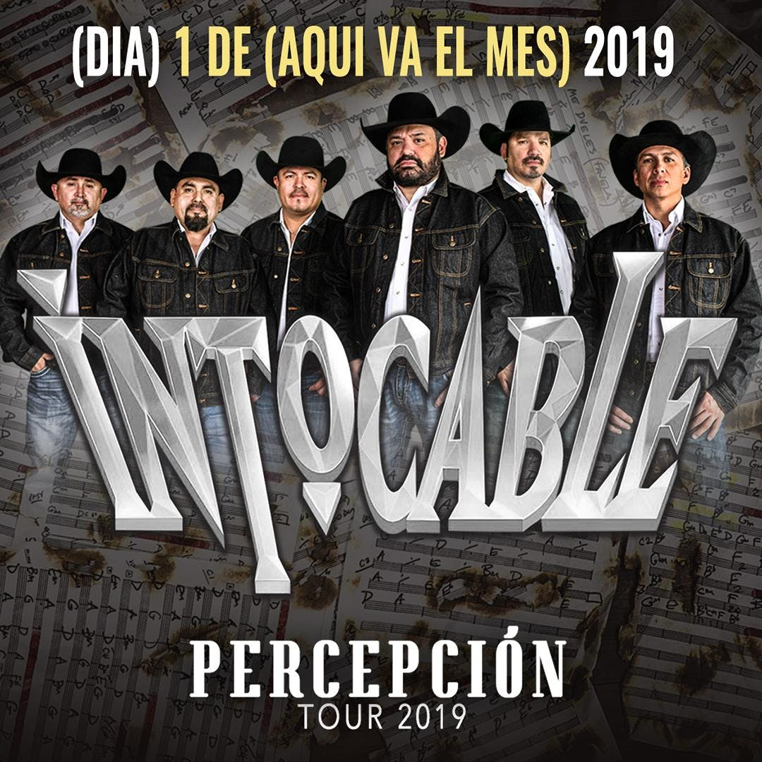 Intocable – Percepcion Tour 2019