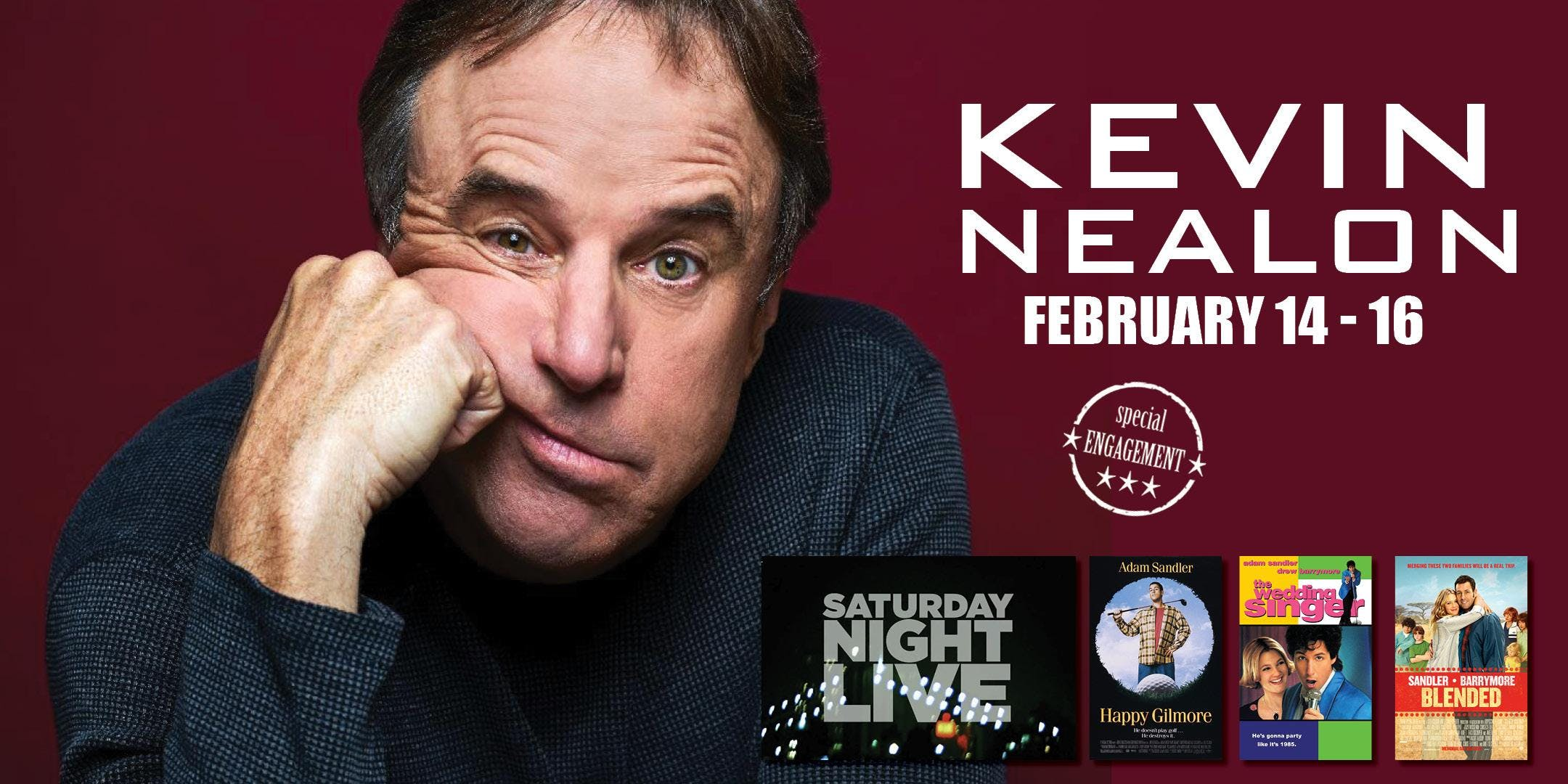 Comedian Kevin Nealon Comedy Tour live in Naples, Florida