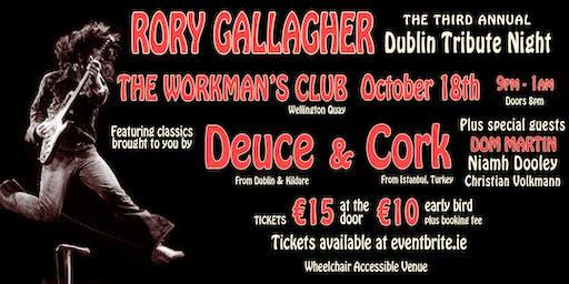 Third Rory Gallagher Dublin Tribute Night