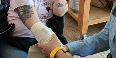 The Medic: Bandaging & Splinting Workshop