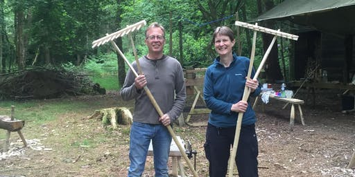 Make a Rake - Green Woodworking Course - September