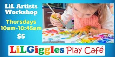 LiL Artists Workshop THURSDAYS (Ages 18m-3.5 y/o)