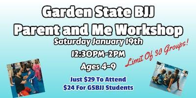 Garden State BJJ Parent and Me Workshop