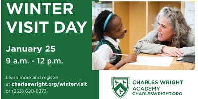 Charles Wright Winter Visit Day