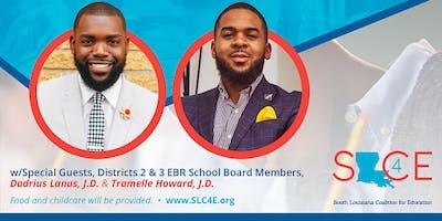 South Louisiana Coalition for Education (SLCE) MOVEMENT MONDAY  1.28.19
