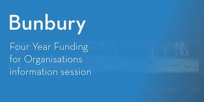 Four Year Funding Program – Information Session - Bunbury