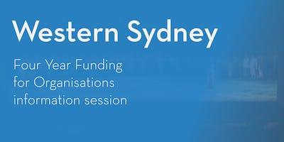 Four Year Funding Program – Information Session - (Western) Sydney