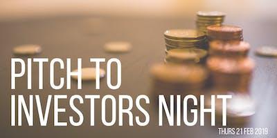 The Studio - Pitch to Investors Night