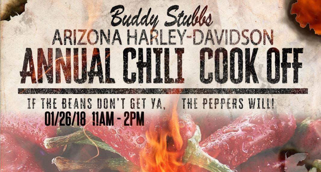 Buddy Stubbs Arizona H-D Chili Cook-Off