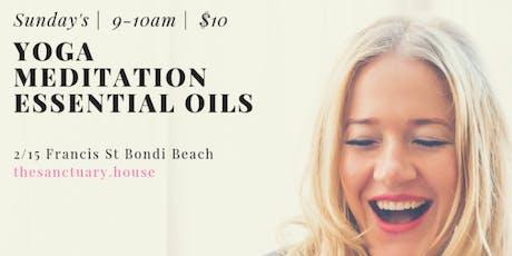 Yoga Meditation Essential Oils  tickets