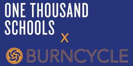 One Thousand Schools x BurnCycle Charity Ride tickets