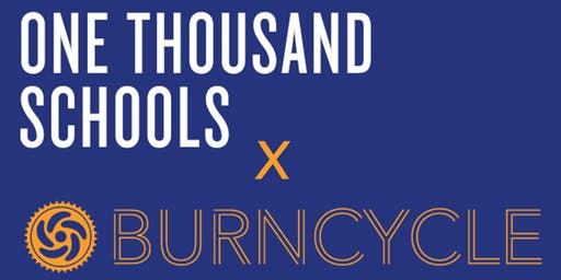 One Thousand Schools x BurnCycle Charity Ride