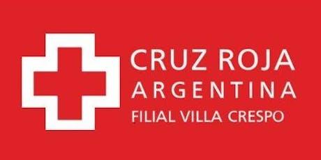 Reválida curso de Primeros Auxilios Básicos de 30 hs. (sábados 19/10 y 26/10 de 2019) entradas