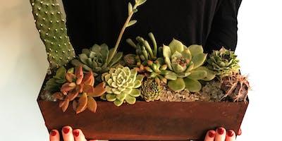 DIY Succulent Centerpiece @ Sweet DIYGs
