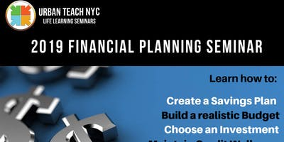 2019 FINANCIAL PLANNING WORKSHOP - Budgeting -Credit
